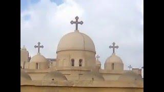 ترنيمة القديسة دميانة + صور الدير البرارى بلقاس