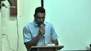 كلمة تزكية الكنيسة المعمدانية في عيلبون على لسان الشيخ داود بيطار