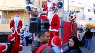 مسيرة الميلاد في الرامة 2013
