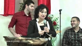 مشاركة من الاخت روز عبيد باحتفال النساء في الناصرة