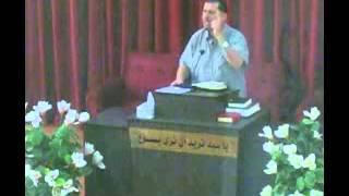 الكنيسة الانجيلية بطرطوس - الاخ جان نهرا (الاحد 2015/8/16)