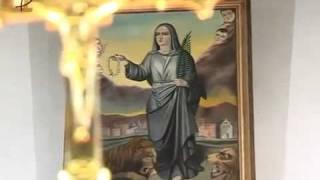 القديسة تقلا معادلة الرسل - ريتا كرم (Noursat)