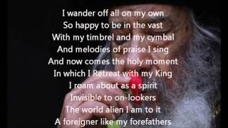 stranger - by Pope Shenouda - غريبا عشت في الدنيا