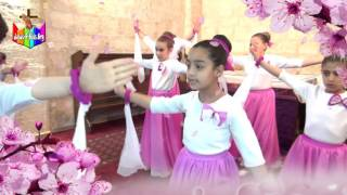 رقصة تسبيحية لفريق مسحة يسوع للصغار 2016