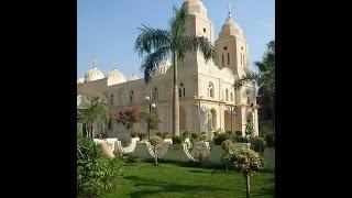 فيديو تاريخ كنيسة الشهيد العظيم مارجرجس بميت برة قويسنا المنوفية مصر